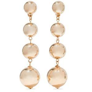 Kenneth Jay Lane Gold Ball Earrings